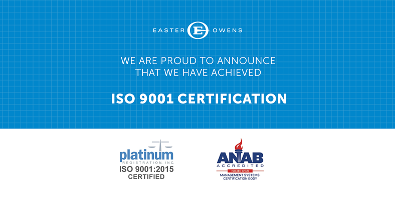 We Are Officially Iso 90012015 Certified So What Does That Really
